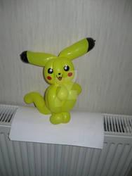 Pikachu by mrballoonatic