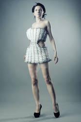 Futuristic balloon dress 3