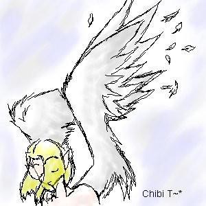 Angel by PsychoTiyal