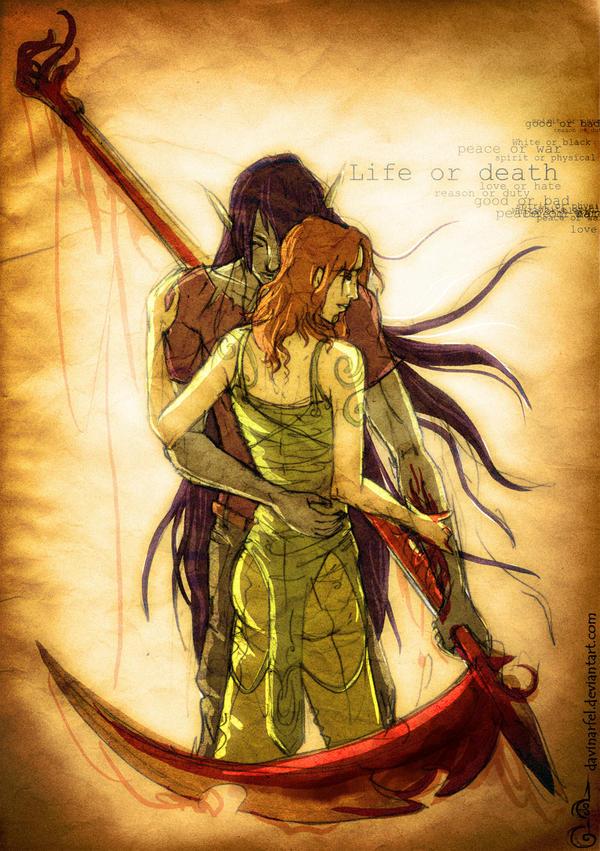 FANARTS d'Ekoï! the Return! Life_or_death_by_DavinArfel