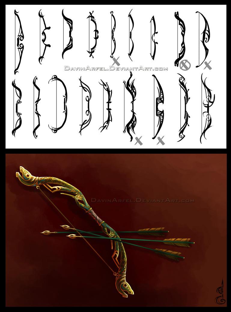 Concept Art : Celtic Bow by DavinArfel