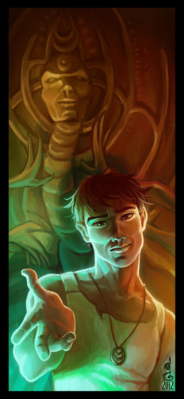Two Faces : Alex or Jin by DavinArfel