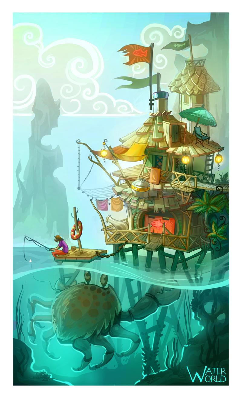 Water world by DavinArfel