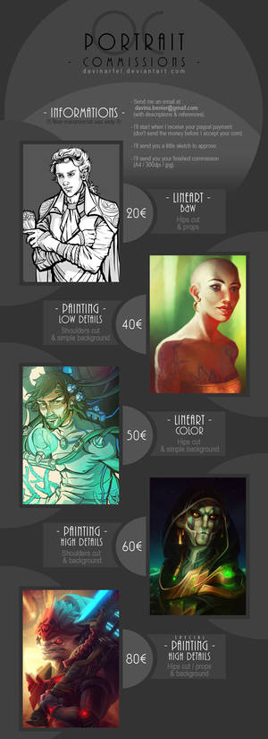Commissions infos