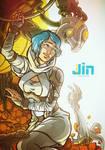 Jin Genesis - book cover 4 by DavinArfel