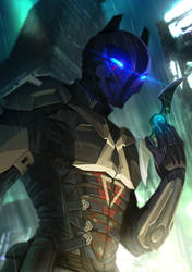Commission - Arkham Knight