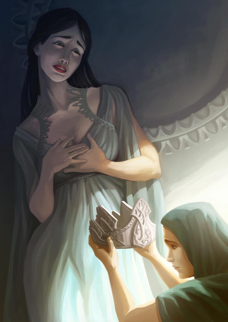 The falling star by DavinArfel
