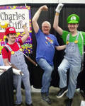 Meeting the voice of Mario!