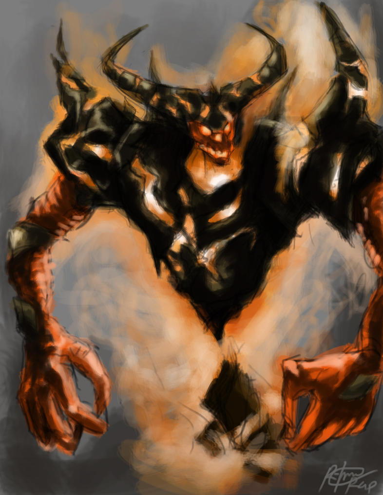 nevermore the shadow fiend by raphael041 d33hxb5