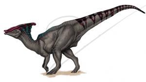Parasaurolophus by ArtOfNoxis