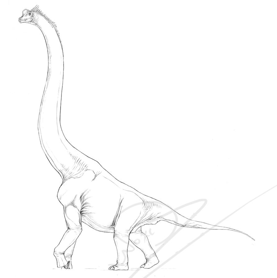 A Dinosaur Giraffe by ArtOfNoxis