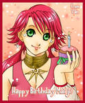 :WIT: Happy Bday Maiji by AsianCloud
