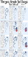 Thryn's SAI v2 Brush Settings PART 2