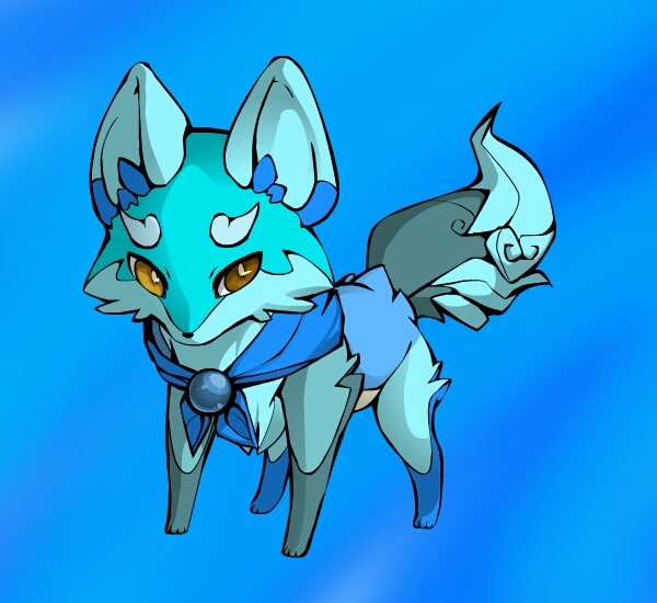 Water Adopt (elemental fox adopt group) *closed* by Fishtailholly