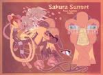 Sunset Sakura Free Ajalkin Raffle [CLOSED] by Astr0fish