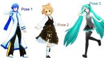 MMD Pose Pack 4