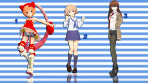 MMD Pose Pack 11