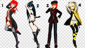 MMD Pose Pack 14