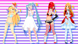 MMD Pose Pack 21 by Aisuchuu