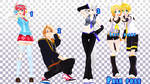 MMD Pose Pack 23