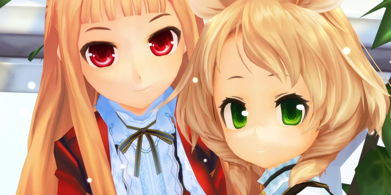 Rhea and Mariel by Aisuchuu