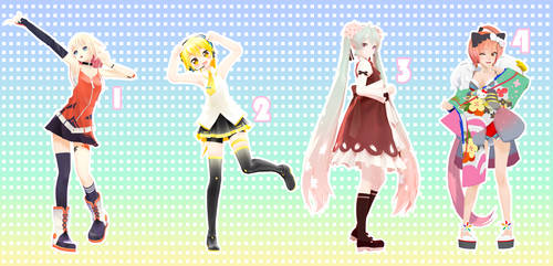 MMD Pose Pack 26