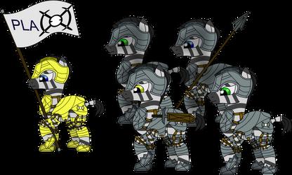 Zebra Squad- PLA by markoatonc