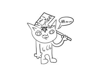 Cat by Tac0butt