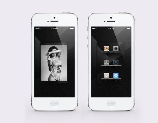 iPhone 5 shot