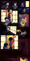 Cat girl (Osomatsu san fan-comic) page 1