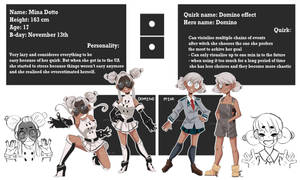 Domino - BNHA OC