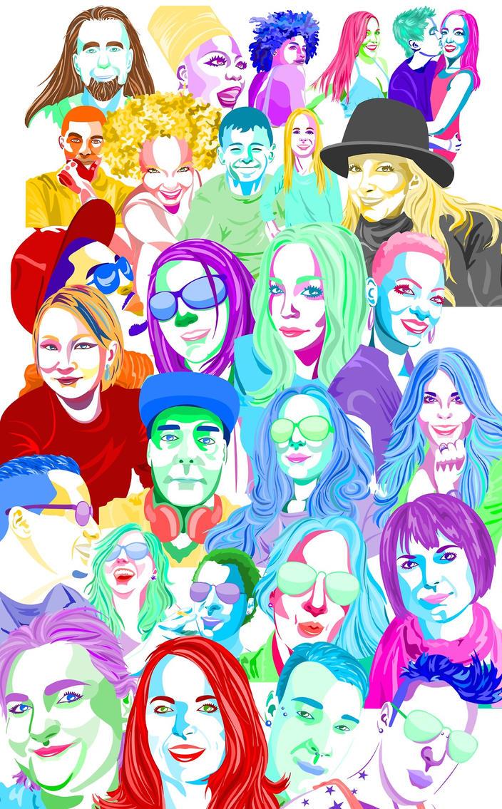 Portrait Commissions by dreamwolvie