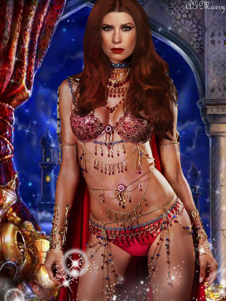Arabian Night (Charmed. Holly Marie Combs) by AGMarry on DeviantArt