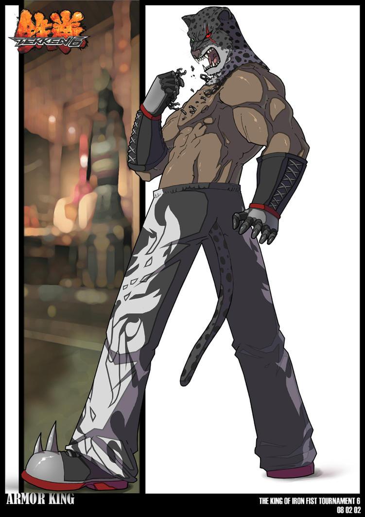 Tekken Armor King - #traffic-club
