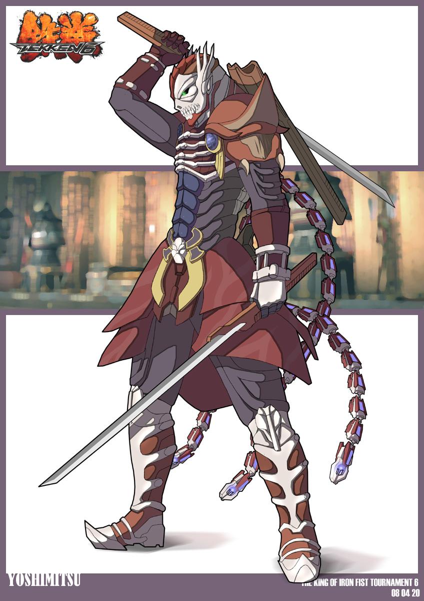 Yoshimitsu Tekken 6 Wallpaper yoshimitsu.T6 by perfe...