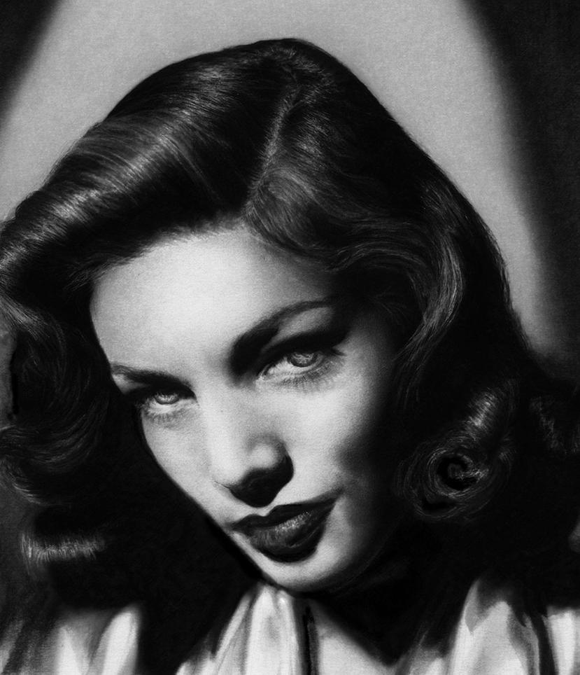 Lauren Bacall by AuroraMist
