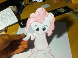Pinkie Pie breaks the 4th wall again by Faulty-Roze