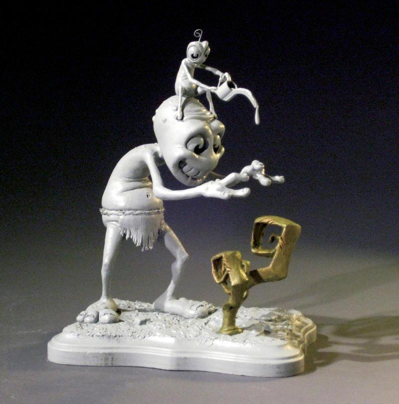 Auction Sculpture by MumboJumbo