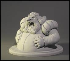 GiantSideBustSculpture by MumboJumbo
