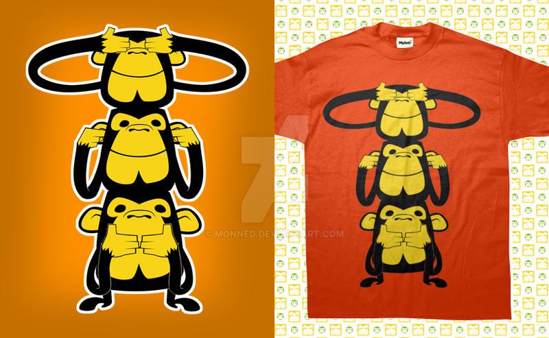 Monkey Totem by monned