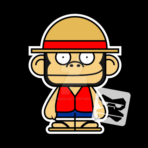 Monkey D Luffy by monned