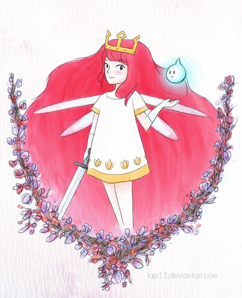 Aurora, princess of Lemuria by Lap12