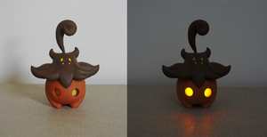 Pumpkaboo with LEDs