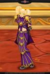 WOW Fanart: Blood Elf Ranjiku