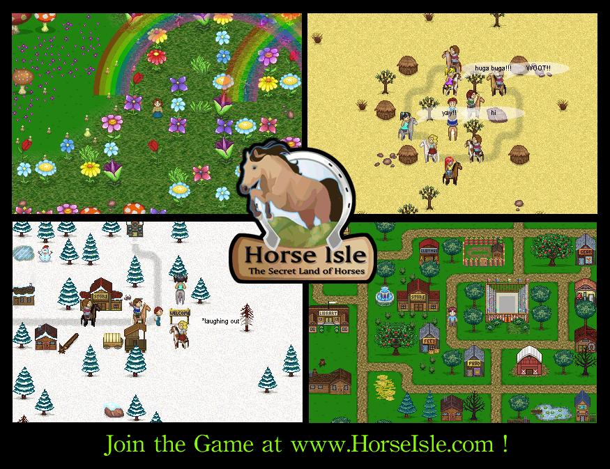 Horse Isle Pixel Art Game