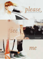 please, see me #taehyung by darknesshcr
