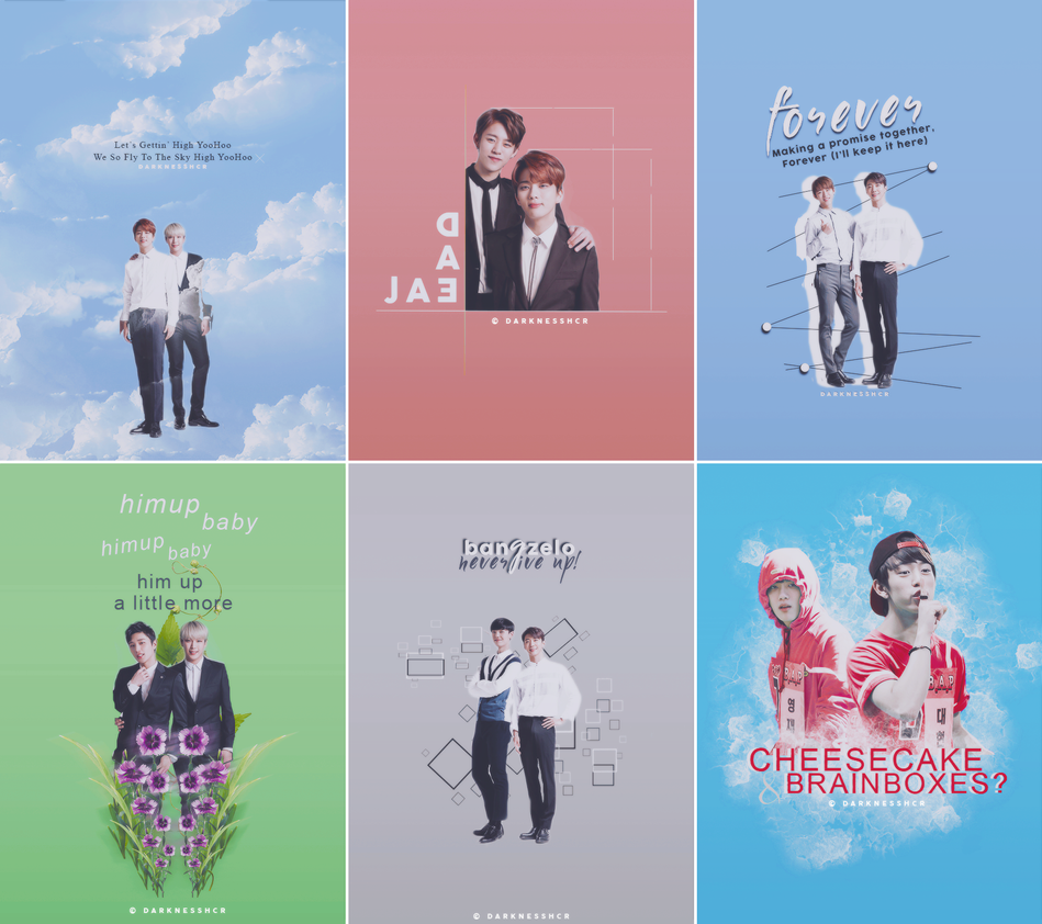 B.A.P lockscreens by darknesshcr