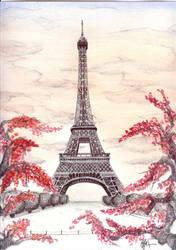 Eiffel Tower by ArtSpansTime