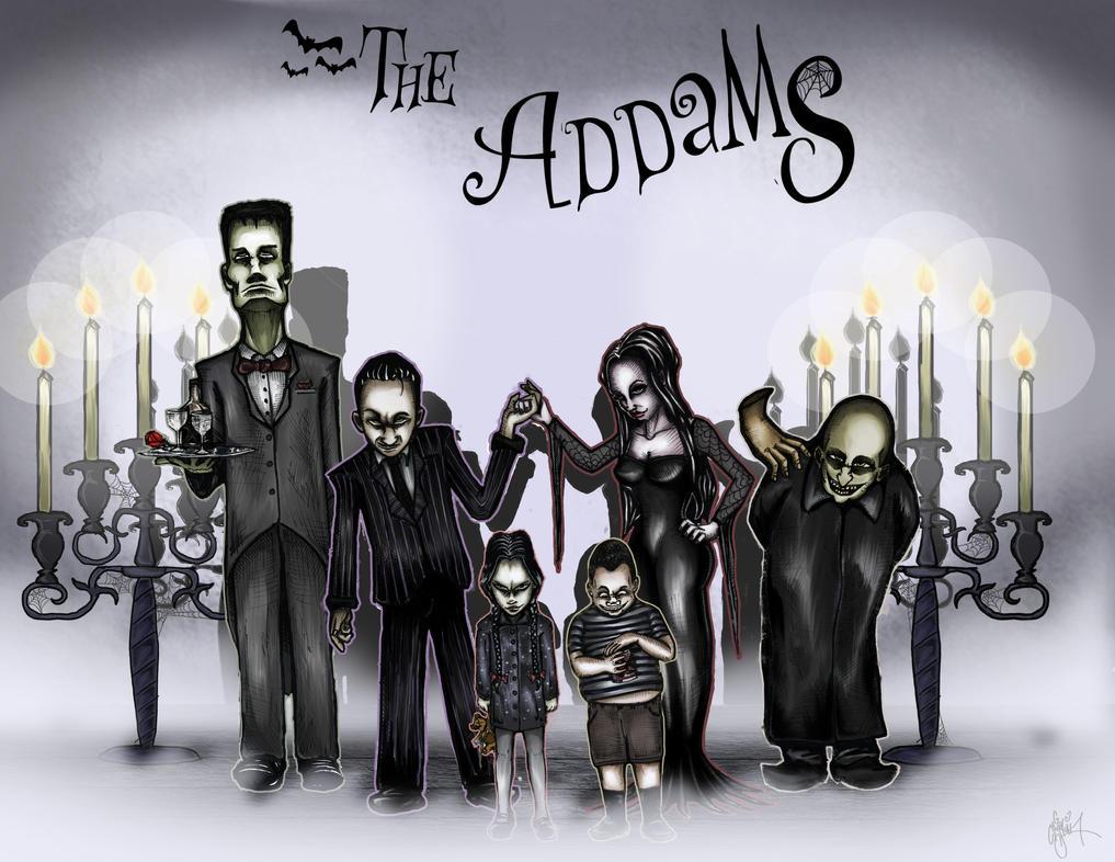 The Addams Family by ArtSpansTime on DeviantArt
