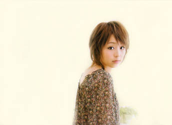 Hirano Aya Simple White _Soft by kiloeminem